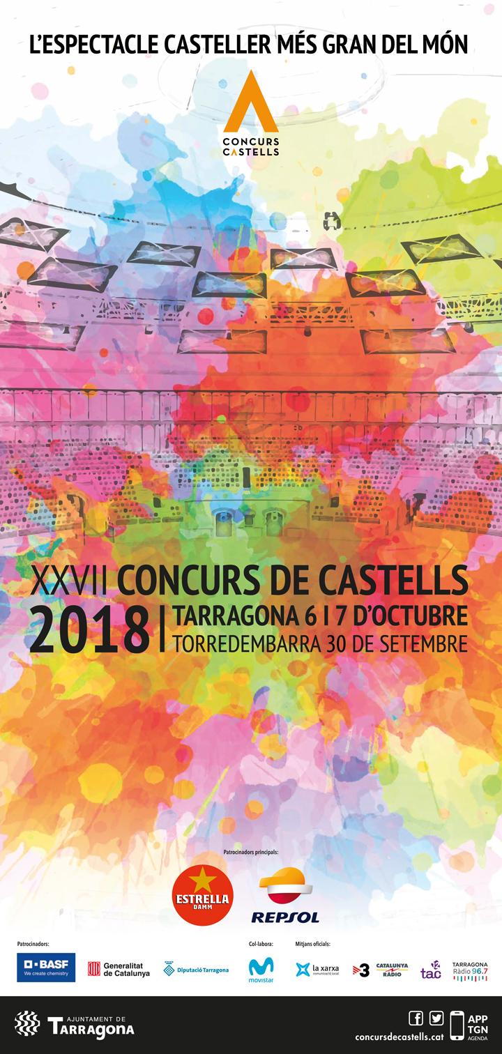 Concurs de castells Tarragona